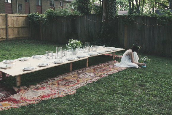 Post image for Backyard Dinner Party With Ruthie Lindsey & Local Milk
