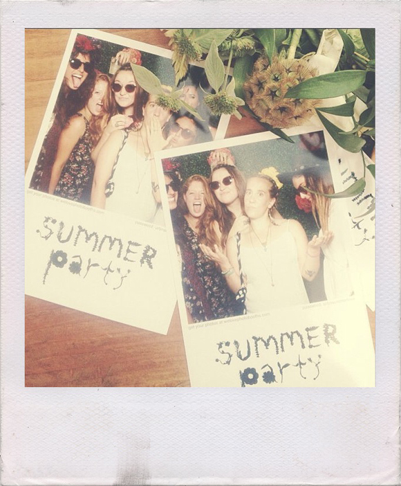 summer party picture