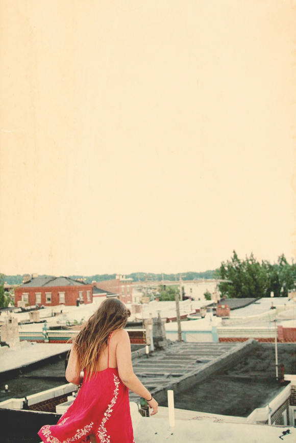 dancing on roof