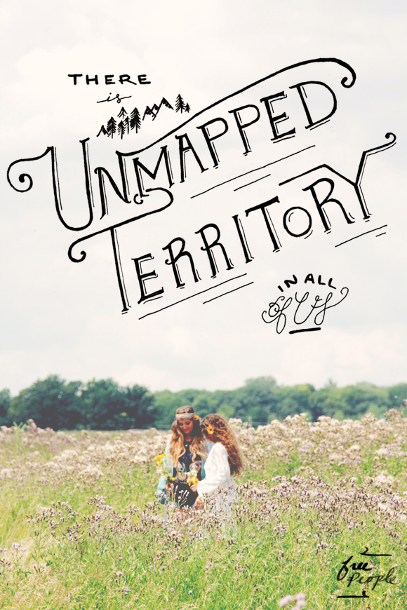 Post image for Monday Quote: Unmapped Territory