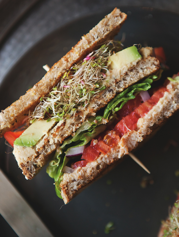 avocado and sprout club sandwich recipe yummly club sandwich avocado ...