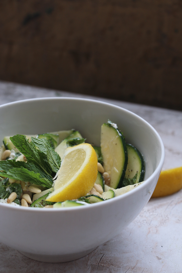 Post image for The Only Zucchini Salad Recipe You Need