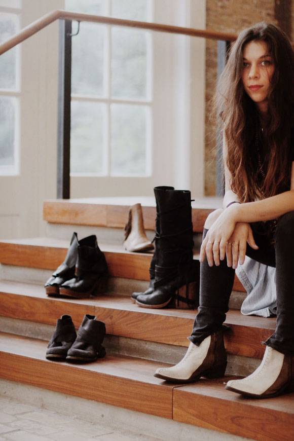 becca and shoes
