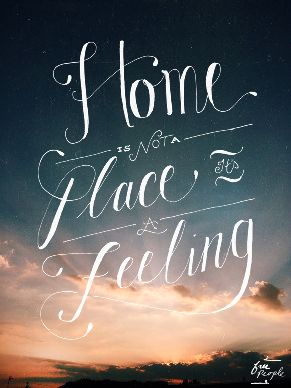 Post image for Monday Quote: Home