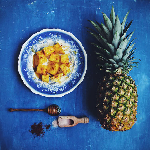 Post image for Sweet and Savory Pineapple Snack