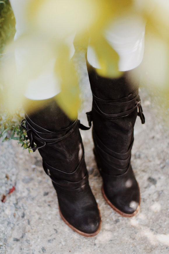 boots in plants