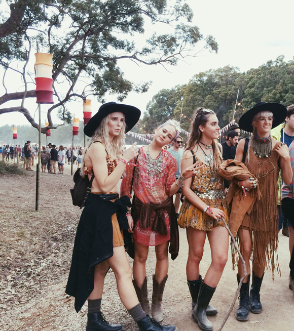 Post image for Festival Fashion At Splendour In The Grass