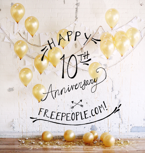 Post image for Celebrating 10 Years Of Freepeople.com