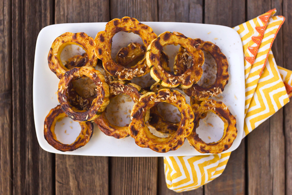 Post image for Chile Spiced Roasted Delicata Squash Rings
