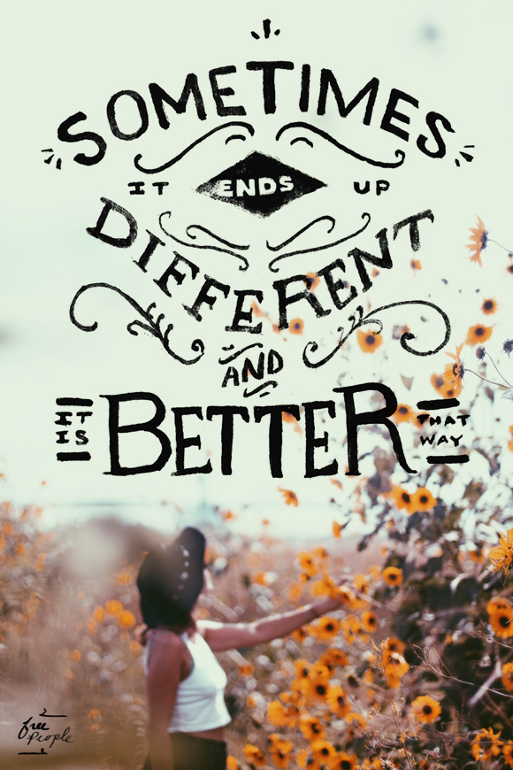 Post image for Monday Quote: It's Better That Way