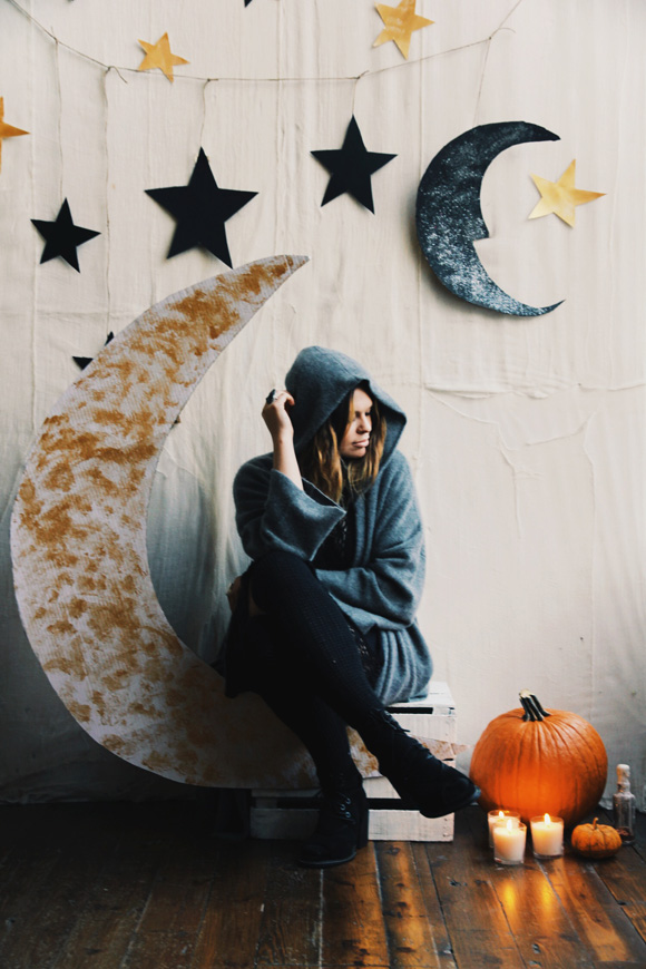 Make your own halloween party backdrop - Decor shooting photo ...