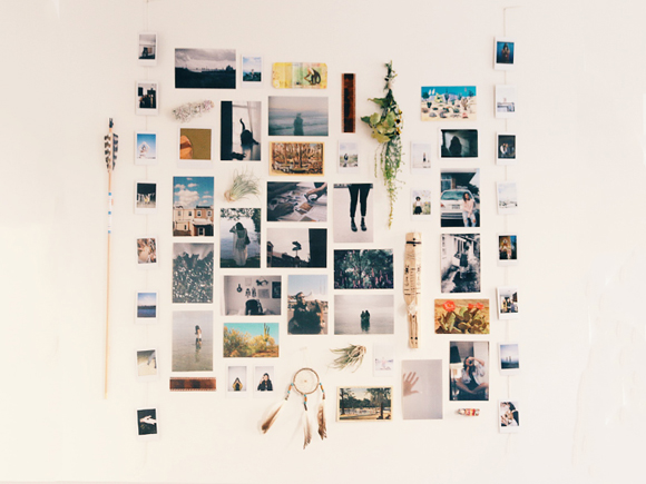 Post image for Weekend Do: Start A Photo Wall
