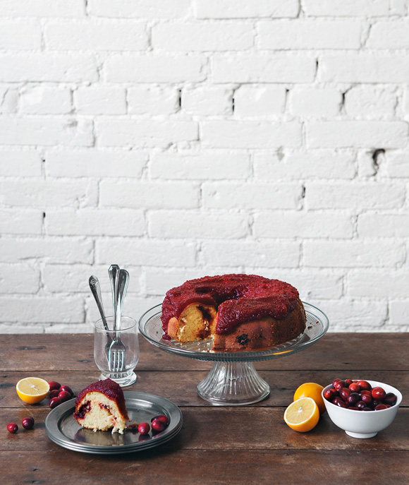 Post image for Lemon Cranberry Bundt Cake