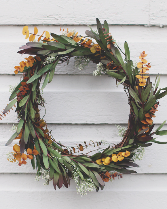 Post image for A DIY Wreath for the Holiday Season