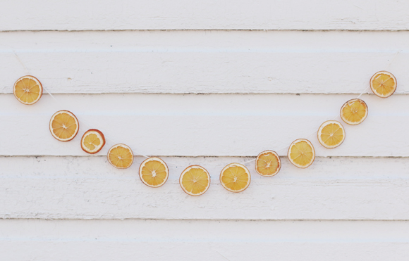 Post image for DIY Dried Orange Holiday Garland