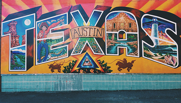 A tour of austin street art for Austin mural wall