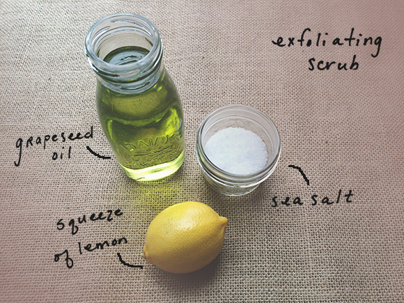 exfoliating scrub ingredients