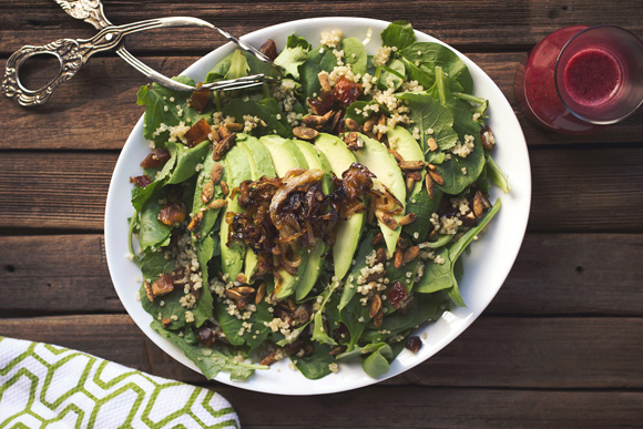 Post image for Baby Kale & Quinoa Salad