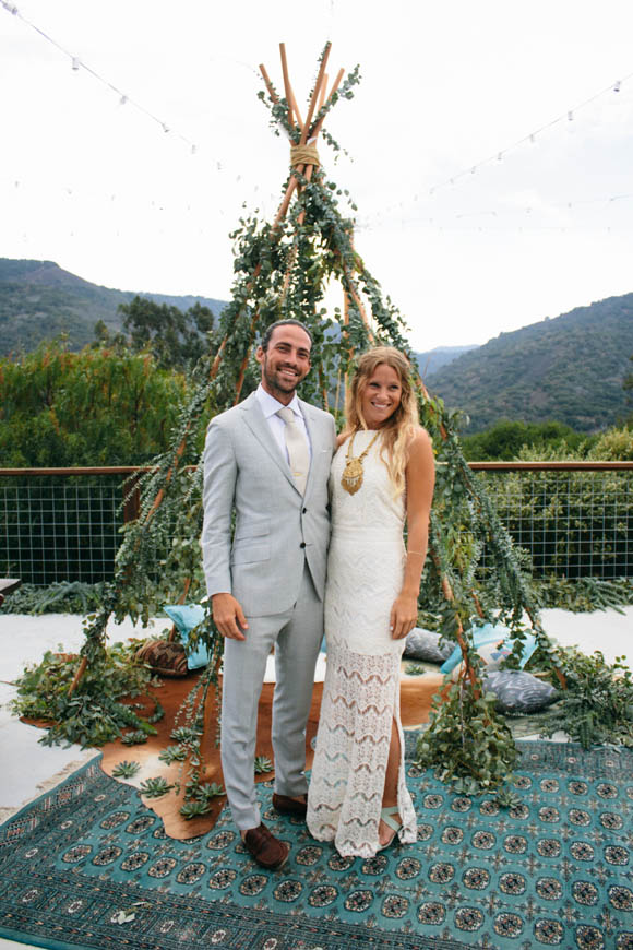 Lauras Boho Wedding