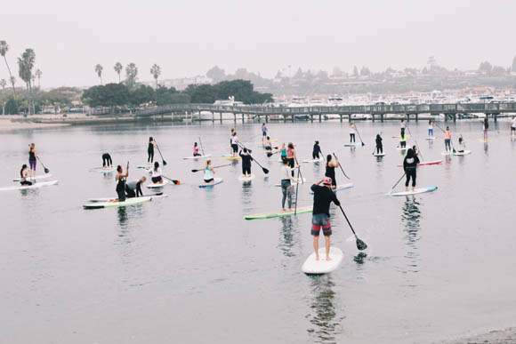 Post image for Asanas on the Water in Cali: #FPLETSMOVE SoCal