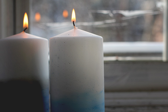 Post image for DIY Dip Dye Candles
