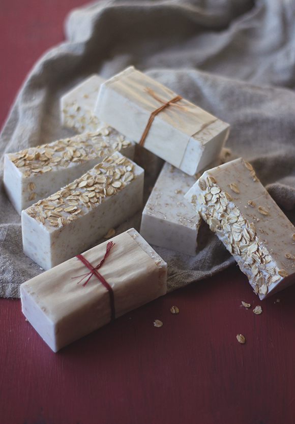 Post image for Homemade Oatmeal Soap