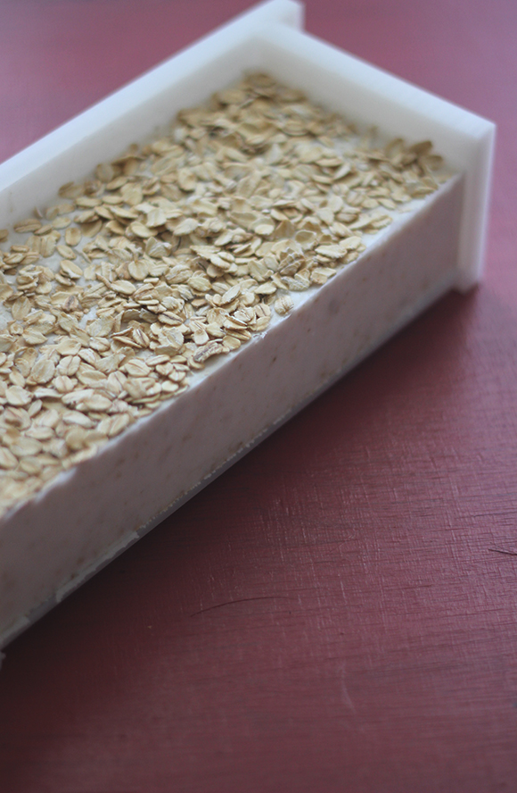homemade oatmeal soap 5