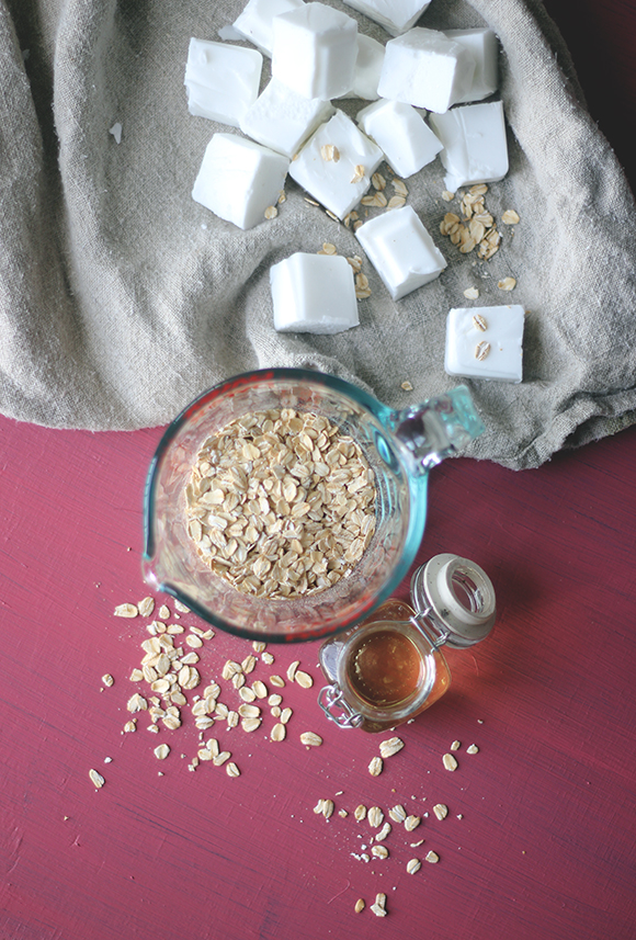 oatmeal soap ingredients