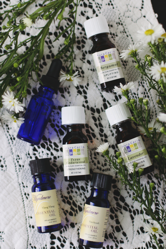 Diy Essential Oil Blend To Relieve Stress And Anxiety