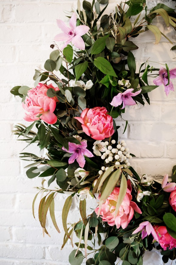 Diy Floral Wedding Garland