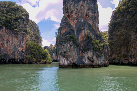 Canoeing at Phang Nga Bay