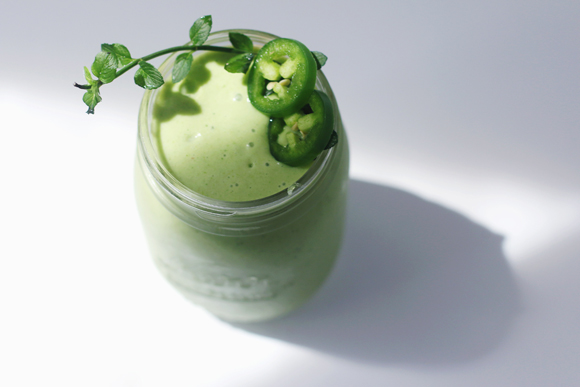 Spicy Green Smoothie