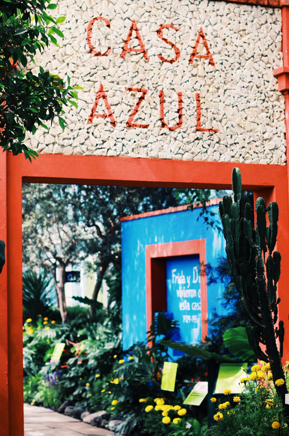 Post image for Inside Frida's Garden: Casa Azul at the New York Botanical Garden