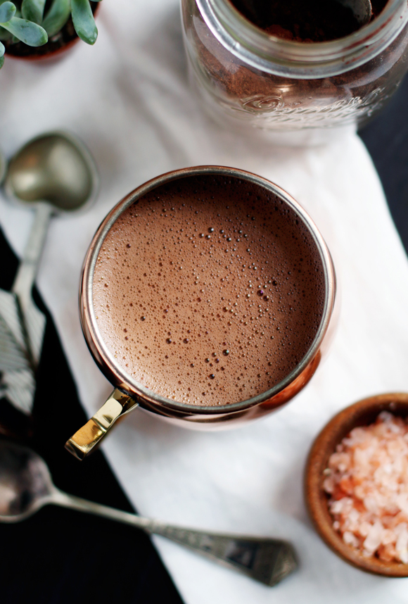 Post image for Morning Rituals: Superfood Hot Cocoa Mix (Vegan + Paleo Friendly)