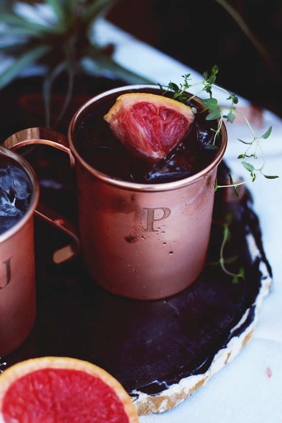 Thyme Moscow Mule 5