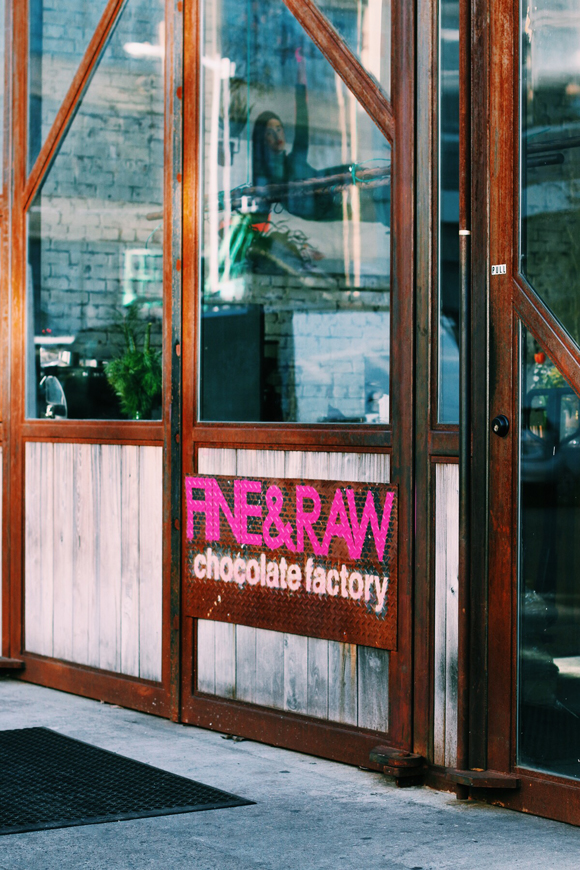 Post image for From Bean to Bar at Fine & Raw