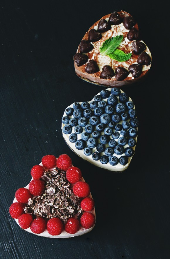 Post image for 1 Cheesecake, 3 Ways: Raw Vegan Cheesecake Recipe for Valentines Day with Rawmio