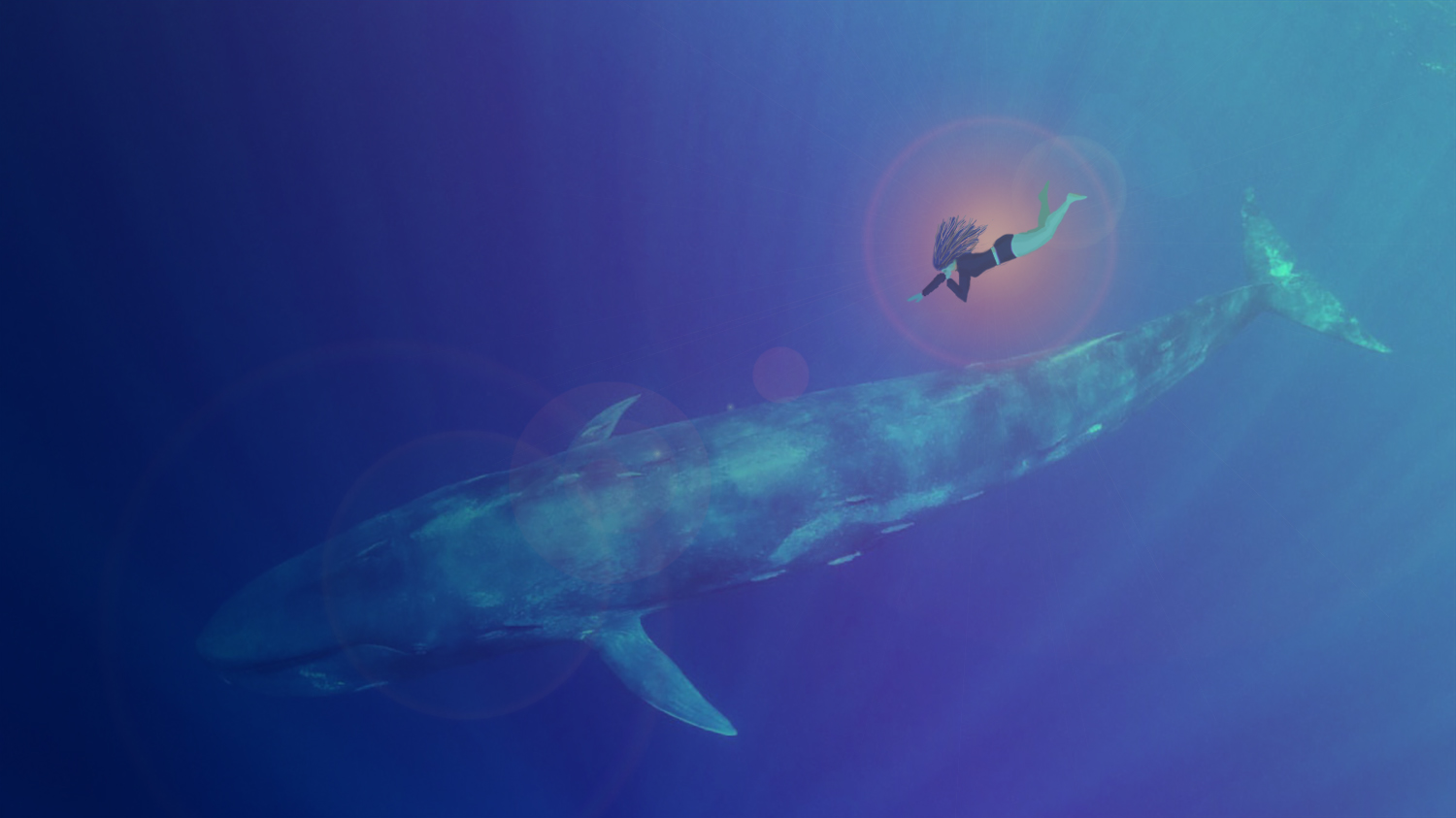 Why does the whale dream