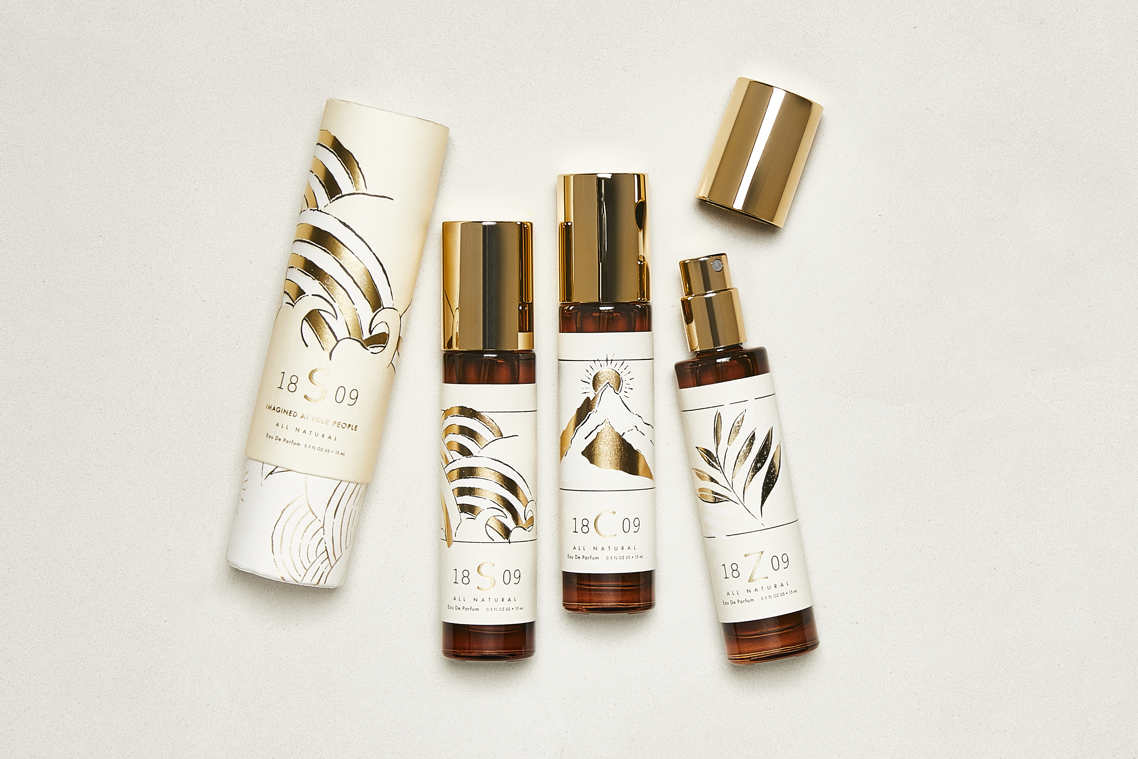 Introducing The 1809 Fragrance Collection: Surf, Yoga, Zen